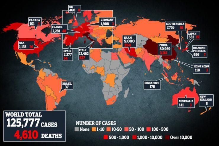 CoronaVirus World Wide Live Case and Death